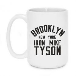 Кружка 420ml Brooklyn Mike Tyson - FatLine