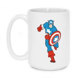 Кружка 420ml Captain America Comics - FatLine