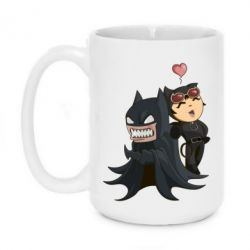 Кружка 420ml Catwoman and Angry Batman - FatLine