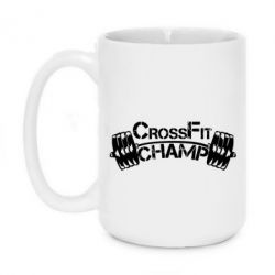 Кружка 420ml CrossFit Champ - FatLine