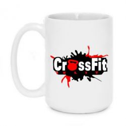 Кружка 420ml CrossFit Elit Graffity - FatLine