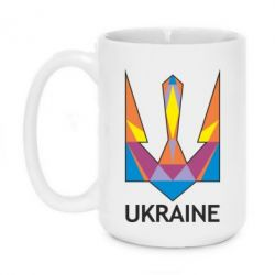 Кружка 420ml Цветной герб - FatLine