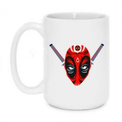 Кружка 420ml Deadpool Kabuki Mask - FatLine