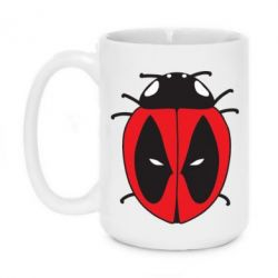 Кружка 420ml Deadpool-ladybug - FatLine