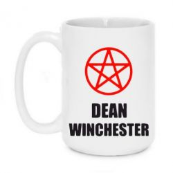 Кружка 420ml Dean Winchester Supernatural - FatLine