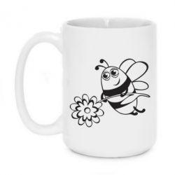 Кружка 420ml Добрая пчелка - FatLine