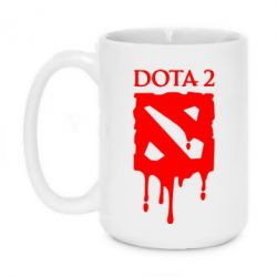Кружка 420ml Dota 2 Logo - FatLine