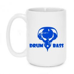 Кружка 420ml Drumm Bass
