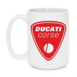 Кружка 420ml Ducati Corse - FatLine