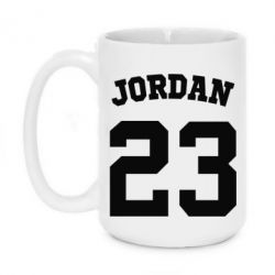 Кружка 420ml Джордан 23 - FatLine