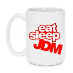 Кружка 420ml Eat sleep JDM - FatLine