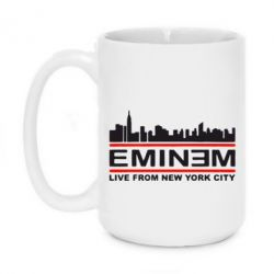 Кружка 420ml EMINEM live from New York City - FatLine