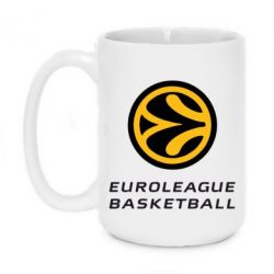 Кружка 420ml Euroleague Basketball - FatLine