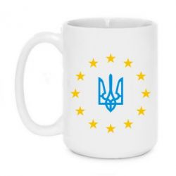 Кружка 420ml ЕвроУкраїна - FatLine