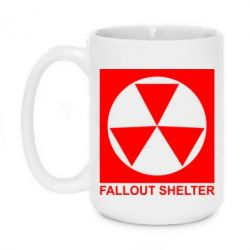 Кружка 420ml Fallout Shelter - FatLine