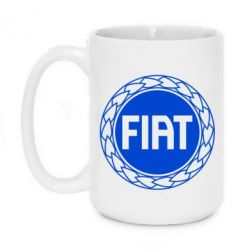 Кружка 420ml Fiat logo - FatLine