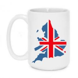 Кружка 420ml Флаг Англии - FatLine
