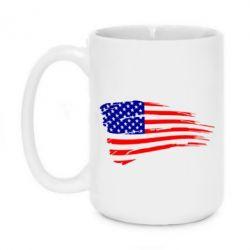 Кружка 420ml Флаг США - FatLine