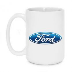 Кружка 420ml Ford 3D Logo - FatLine