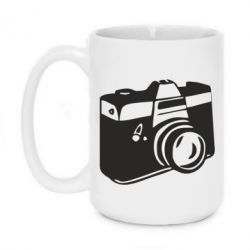 Кружка 420ml Фотоаппарат - FatLine