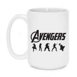Кружка 420ml Four Avengers - FatLine