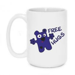 Кружка 420ml Free Hugs - FatLine