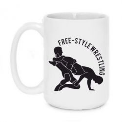 Кружка 420ml Free-style wrestling - FatLine