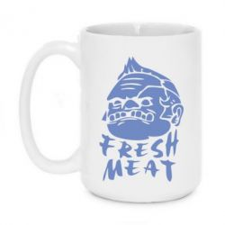 Кружка 420ml Fresh Meat Pudge - FatLine