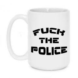 Кружка 420ml Fuck The Police К черту полицию - FatLine