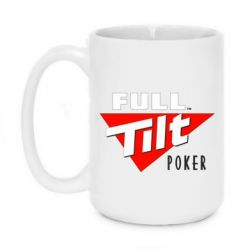 Кружка 420ml Full Tilt Poker - FatLine
