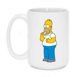 Кружка 420ml Гомер что-то затеял - FatLine