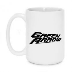 Кружка 420ml Green Arrow - FatLine