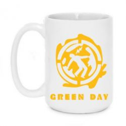 Кружка 420ml Green Day Logo - FatLine