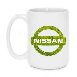Кружка 420ml Green Line Nissan - FatLine
