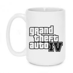 Кружка 420ml GTA IV - FatLine