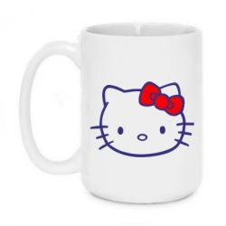 Кружка 420ml Hello Kitty logo - FatLine