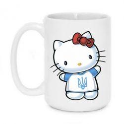 Кружка 420ml Hello Kitty UA - FatLine