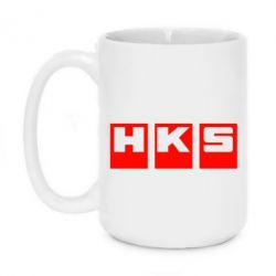 Кружка 420ml HKS - FatLine