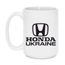 Кружка 420ml Honda Ukraine - FatLine