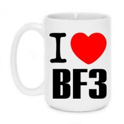 Кружка 420ml I love Battlefield 3