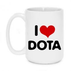 Кружка 420ml I love Dota - FatLine