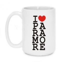 Кружка 420ml I love Paramore - FatLine