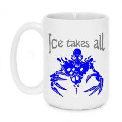 Кружка 420ml Ice takes all Dota - FatLine