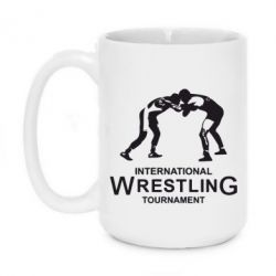 Кружка 420ml International Wrestling Tournament