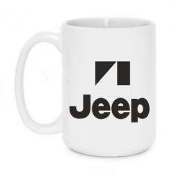 Кружка 420ml Jeep Logo - FatLine