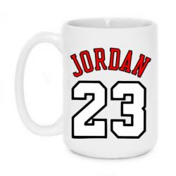 Кружка 420ml Jordan 23 - FatLine