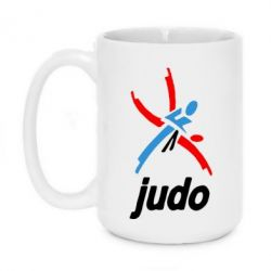 Кружка 420ml Judo Logo - FatLine