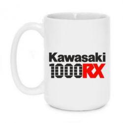 Кружка 420ml Kawasaki 1000RX - FatLine