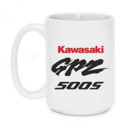 Кружка 420ml Kawasaki GPZ500S - FatLine