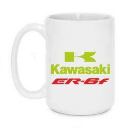 Кружка 420ml Kawasakie ER-6F - FatLine